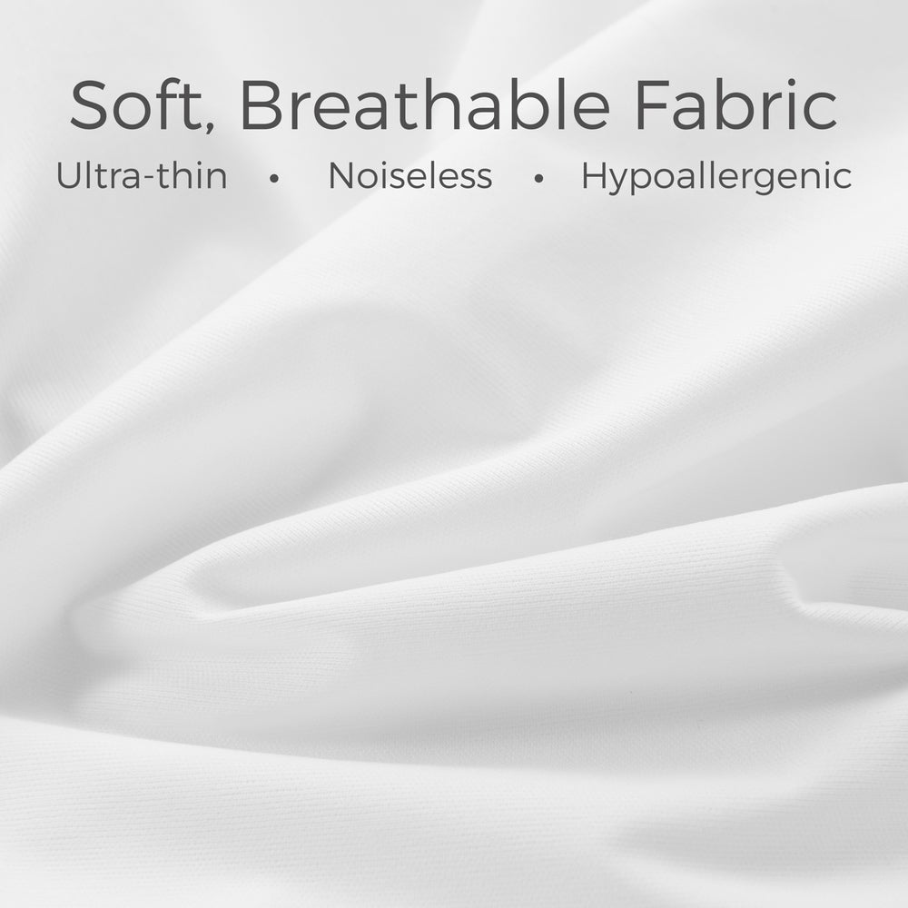 Linenspa Essentials Premium Smooth Fabric Pillow Protector