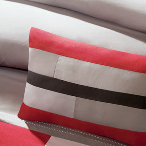 Mi Zone Switch Casual Stripe Comforter Set