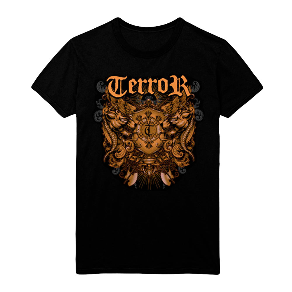 *limited stock* Crest Black T-Shirt