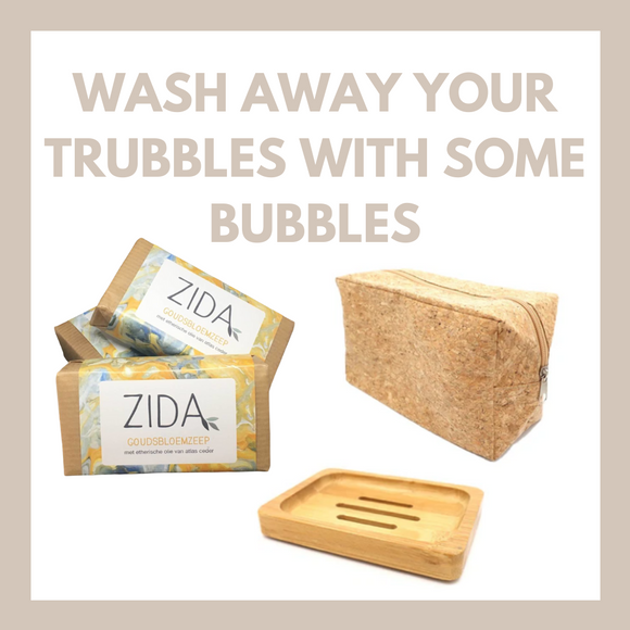 WASH AWAY YOUR TROUBLES WITH SOME BUBBLES - pakket lichaamsverzorging