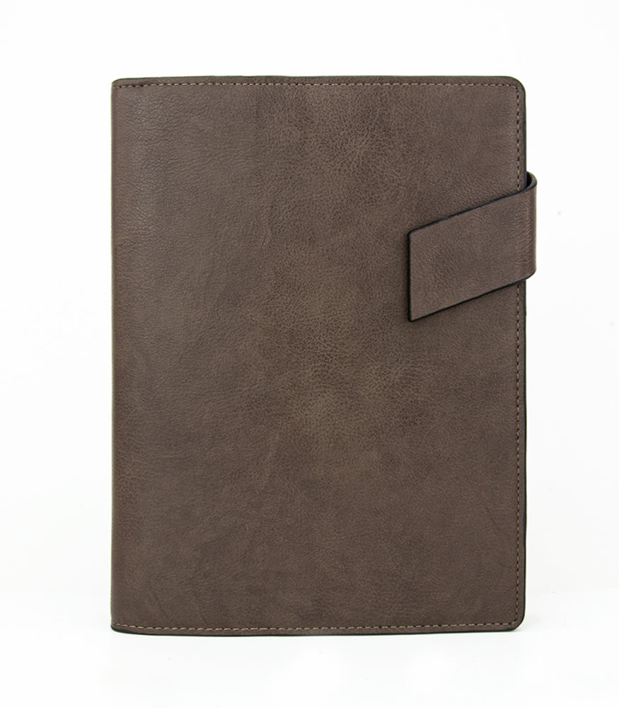 A5 Ringed Planner - T732/205 - Brown
