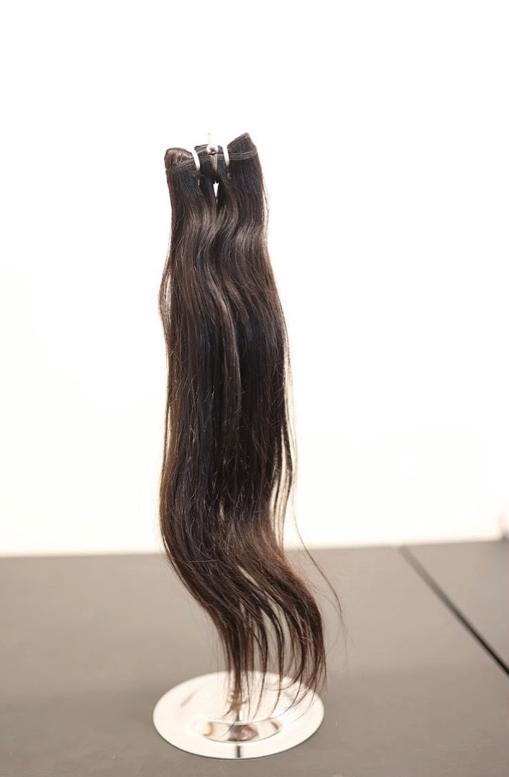 100% Indian Straight Virgin Unprocessed Hair