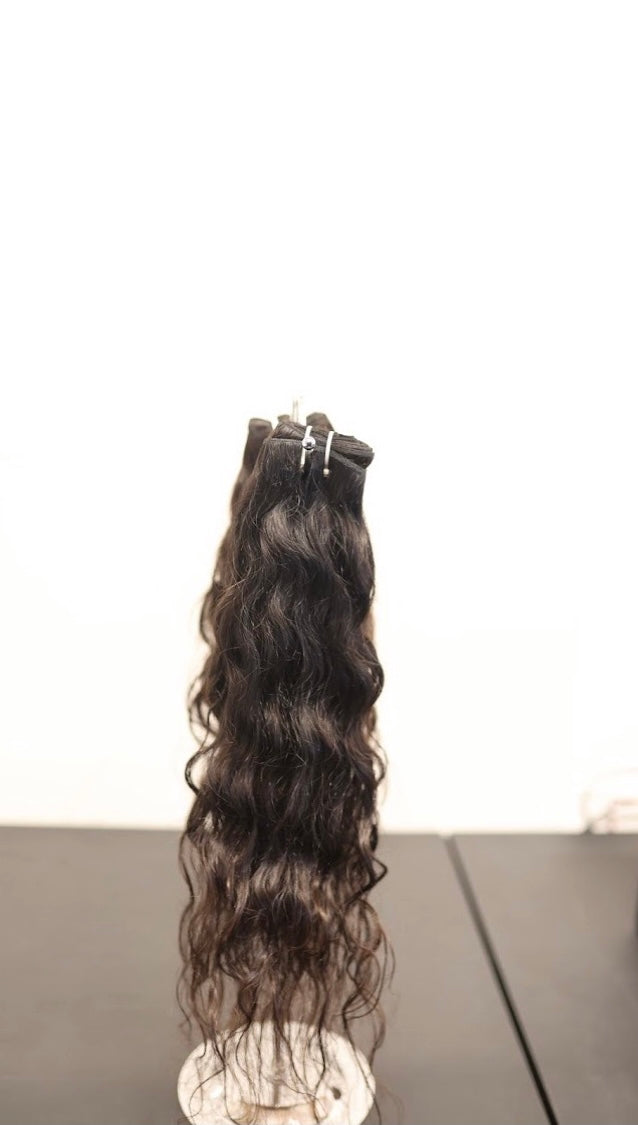 100% Indian Virgin Unprocessed Body Wavy Hair