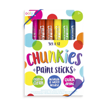 Load image into Gallery viewer, Chunkies Paint Sticks Set/12