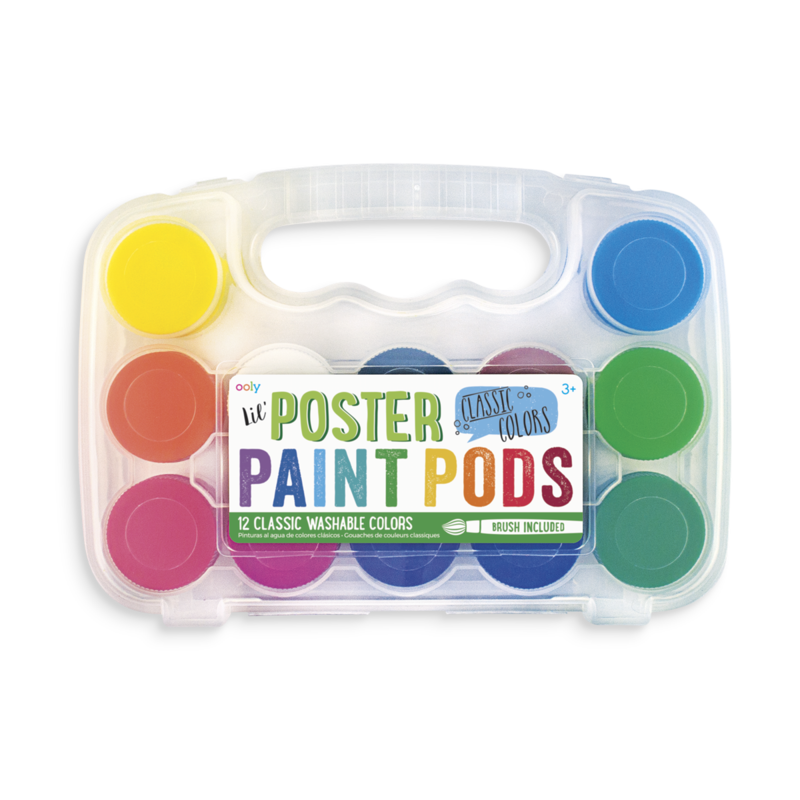 Poster Paint Pods