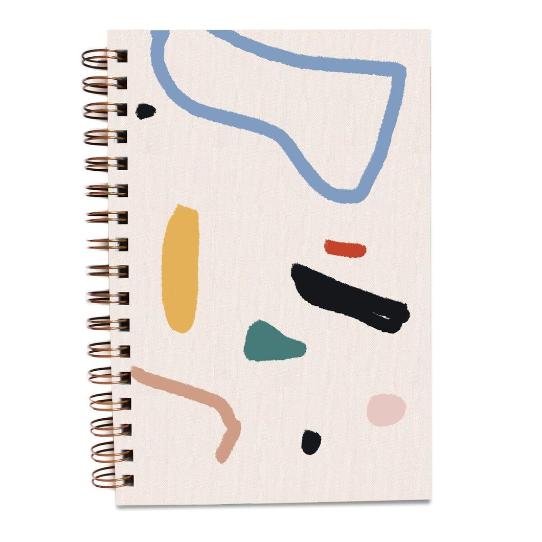 Ray Painted Notebook