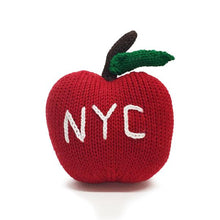 Load image into Gallery viewer, Organic Big Apple Rattle