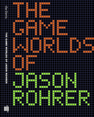 A photo of the artbook The Game Worlds of Jason Rohrer