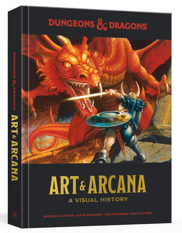 A photo of the artbook Dungeons & Dragons Art & Arcana: A Visual History