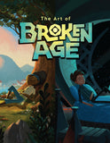 A photo of the artbook The Art of Broken Age