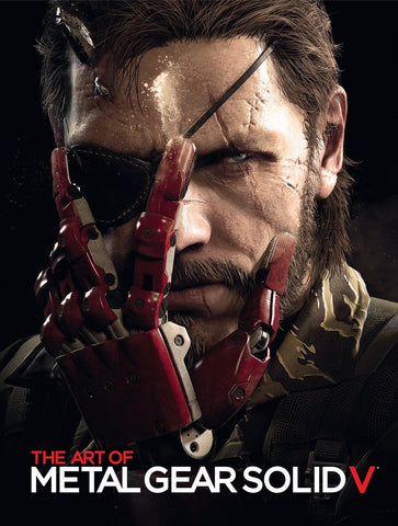 A photo of the artbook The Art of Metal Gear Solid V
