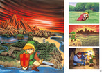 A photo of the artbook The Legend of Zelda: Art & Artifacts