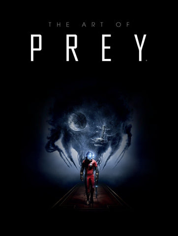 A photo of the artbook The Art of Prey