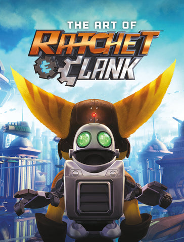 A photo of the artbook The Art of Ratchet & Clank