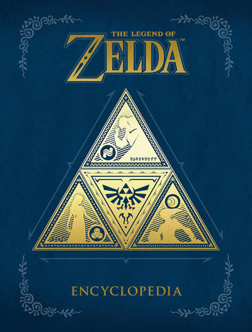 A photo of the artbook The Legend of Zelda Encyclopedia