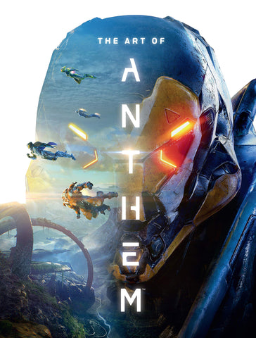A photo of the artbook The Art of Anthem