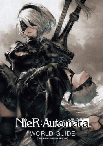 A photo of the artbook Nier: Automata World Guide Volume 1