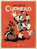 A photo of the artbook The Art of Cuphead
