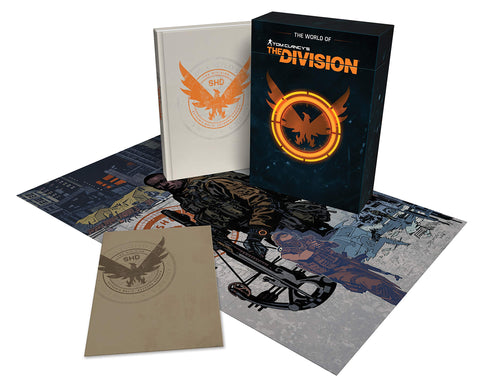 A photo of the artbook The World of Tom Clancy's the Division Limited Edition