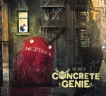 A photo of the artbook The Art of Concrete Genie