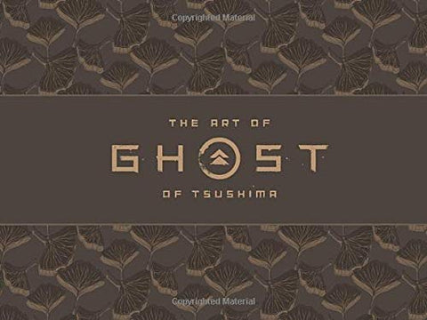 A photo of the artbook The Art of Ghost of Tsushima