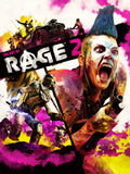 A photo of the artbook The Art of Rage 2