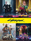 A photo of the artbook The World of Cyberpunk 2077