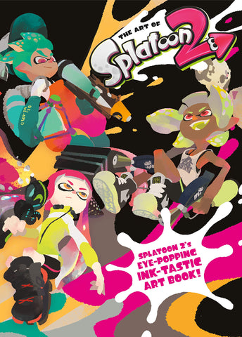 A photo of the artbook The Art of Splatoon 2