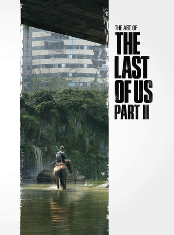 A photo of the artbook The Art of the Last of Us Part II