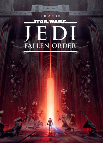 A photo of the artbook The Art of Star Wars Jedi: Fallen Order