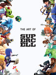 A photo of the artbook The Art of Supercell: 10th Anniversary Edition