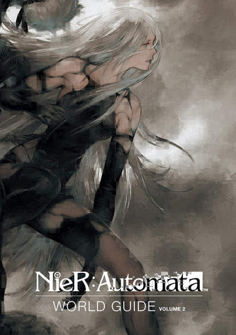 A photo of the artbook Nier: Automata World Guide Volume 2