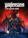 A photo of the artbook The Art of Wolfenstein: Youngblood