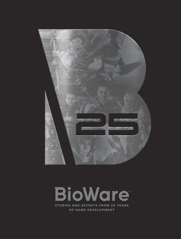 A photo of the artbook Bioware: Stories and Secrets from 25 Years of Game Development