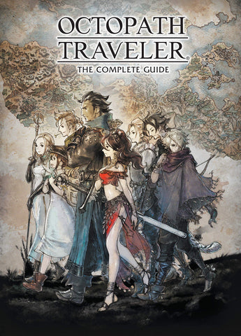 A photo of the artbook Octopath Traveler: The Complete Guide