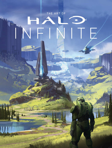 A photo of the artbook The Art of Halo Infinite