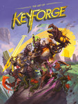 A photo of the artbook The Art of Keyforge