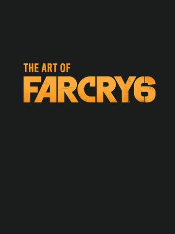 A photo of the artbook The Art of Far Cry 6