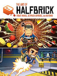A photo of the artbook The Art of Halfbrick: Fruit Ninja, Jetpack Joyride and Beyond