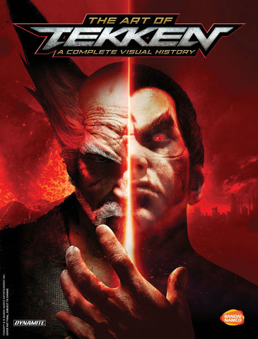 A photo of the artbook The Art of Tekken: A Complete Visual History Hc