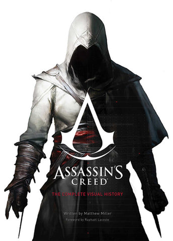 A photo of the artbook Assassin's Creed: The Complete Visual History