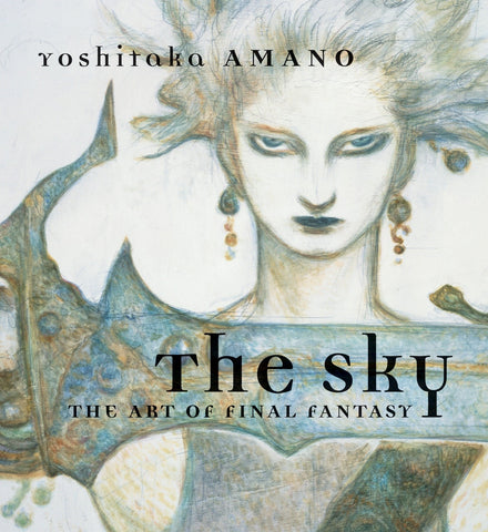 A photo of the artbook The Sky: The Art of Final Fantasy