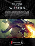 A photo of the artbook The World of the Witcher: Video Game Compendium