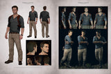 A photo of the artbook The Art of Uncharted 4: A Thief's End