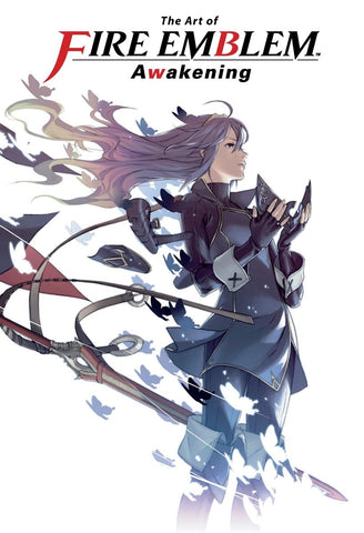 A photo of the artbook The Art of Fire Emblem: Awakening