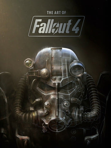 A photo of the artbook The Art of Fallout 4