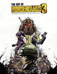 A photo of the artbook The Art of Borderlands 3