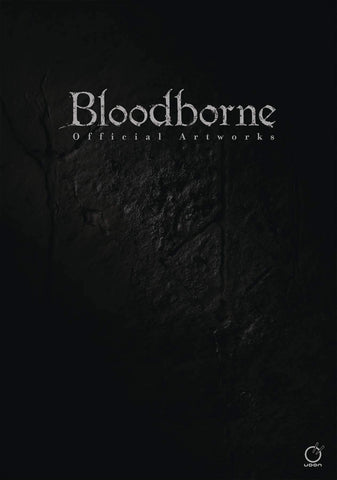 A photo of the artbook Bloodborne Official Artworks