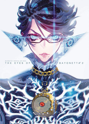 A photo of the artbook The Eyes of Bayonetta 2