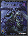 A photo of the artbook The Art of Darksiders II